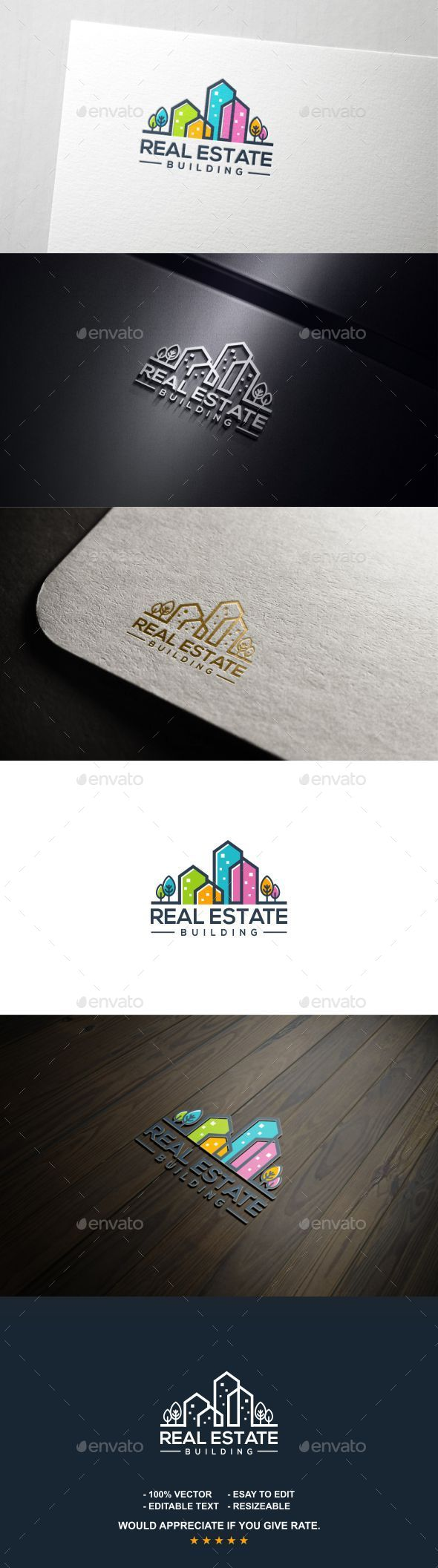 Real Estate - Logo Templates