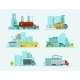 Transportation Set - GraphicRiver Item for Sale