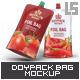 Doypack Foil Bag Mock-Up v.2 - GraphicRiver Item for Sale