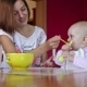 Beatiful Girl Feeds Her Baby - VideoHive Item for Sale