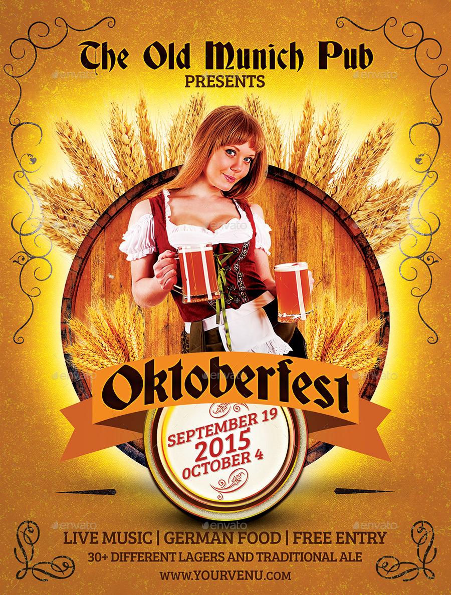 Oktoberfest Flyer Template Holidays Events 01 Munich Jpg 02 03