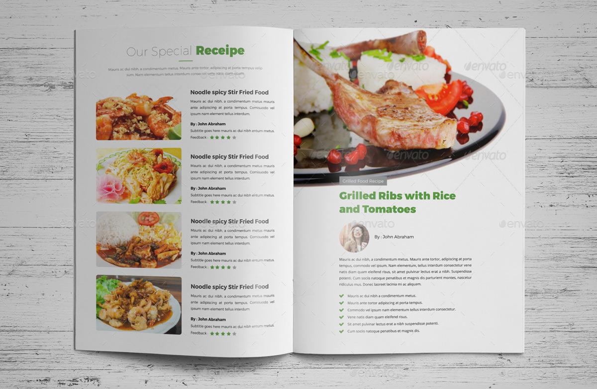 Food recipes brochure catalog design v2 by jbn comilla graphicriver food recipes brochure catalog design v2 forumfinder Gallery