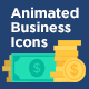 100 Animated Business Icons - VideoHive Item for Sale