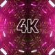 4k Cybernetic Tunnel Vj Loop - VideoHive Item for Sale