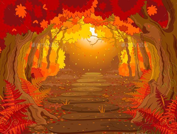 Magic Forest  - Landscapes Nature