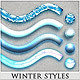 18 Winter Styles - GraphicRiver Item for Sale