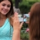 Two Beautiful Girlfriends Make Selfie Photo - VideoHive Item for Sale