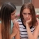 Teenage Girl Consoling Her Sad Upset Friend - VideoHive Item for Sale