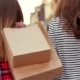 Attractive Young Woman With Paper Bags - VideoHive Item for Sale
