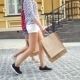 Woman's Legs And Shopping Bags - VideoHive Item for Sale
