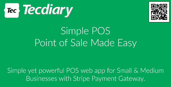 Simple POS Point Of Sale Made Easy By Tecdiary CodeCanyon - Invoice template free download cheapest online vapor store