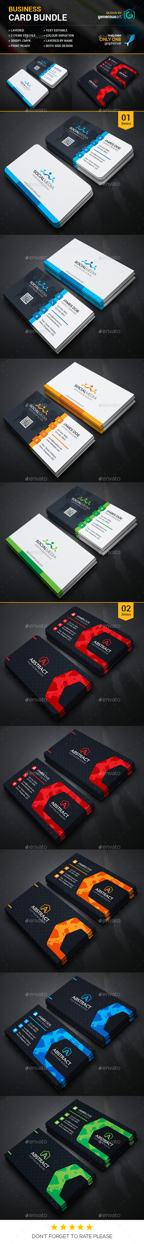 Business Card Bundle 2 in 1 19