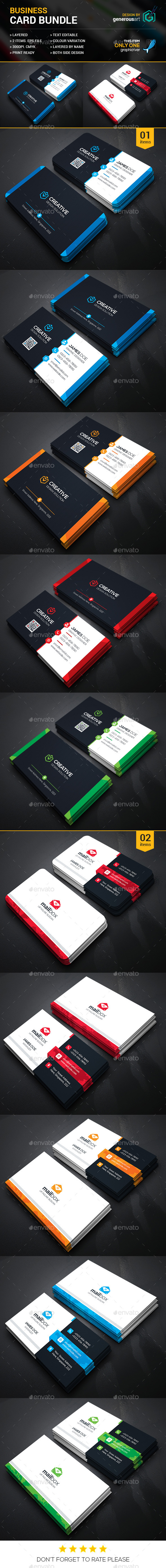 Business Card Bundle 2 in 1 20