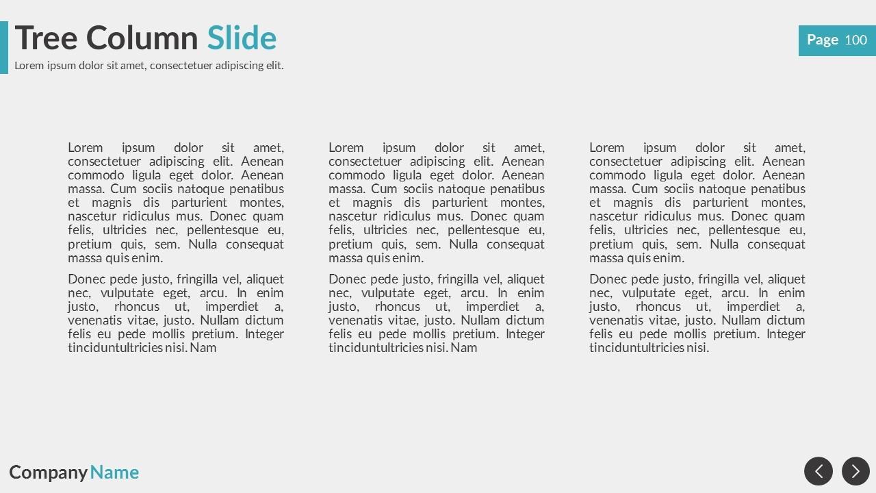 True Business Google Slides Presentation Template by Spriteit ...