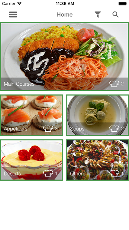 Ios recipe app by dmbteam codecanyon ios recipe app codecanyon item for sale screens1g forumfinder Gallery