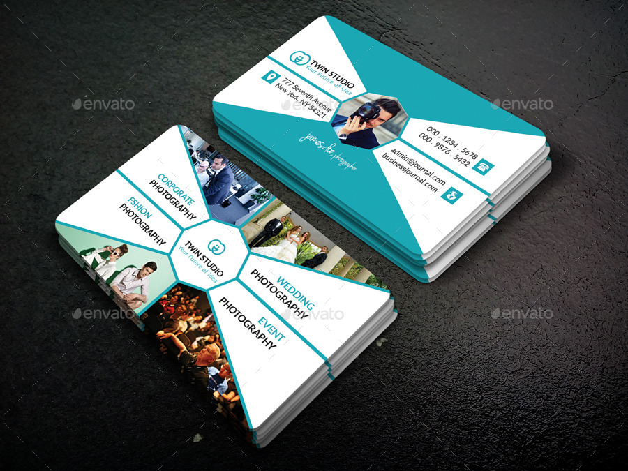 Photography Business Card Design By TwinGraphic