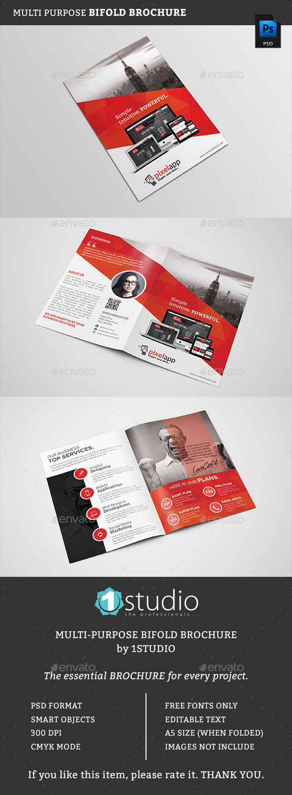 Bifold Brochure 02 - Corporate Brochures