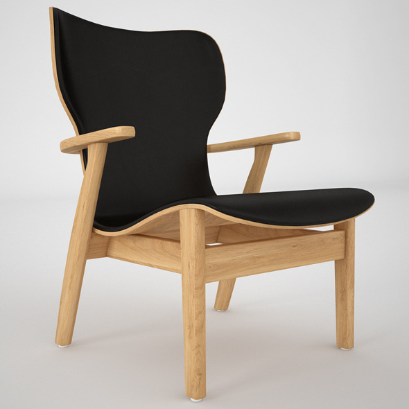Domus Chair By Artek - 3DOcean Item for Sale