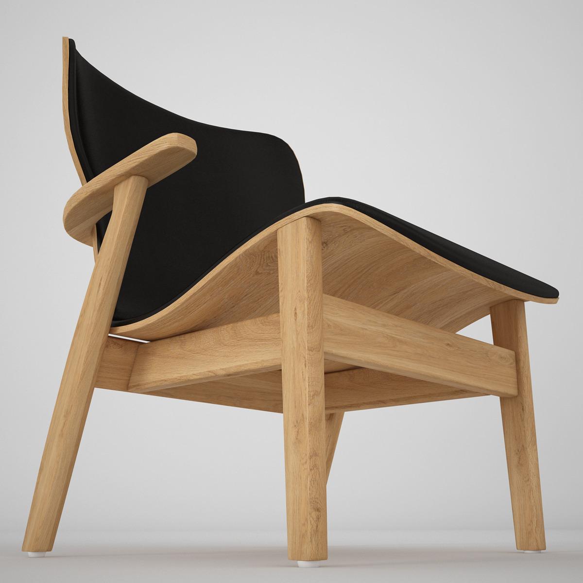 Domus Chair By Artek By Genkot29 3docean