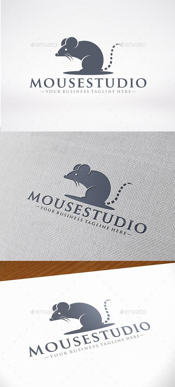 Rat Mascot Logo Template - Animals Logo Templates