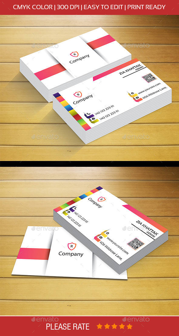 ColorFull Business Card - Corporate Business Cards