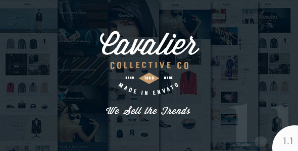 Cavalier - We Sell the Trends. Woocommerce Theme
