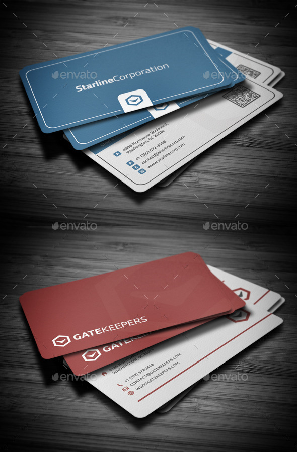 Business Cards Bundle #2 - Business Cards Print Templates