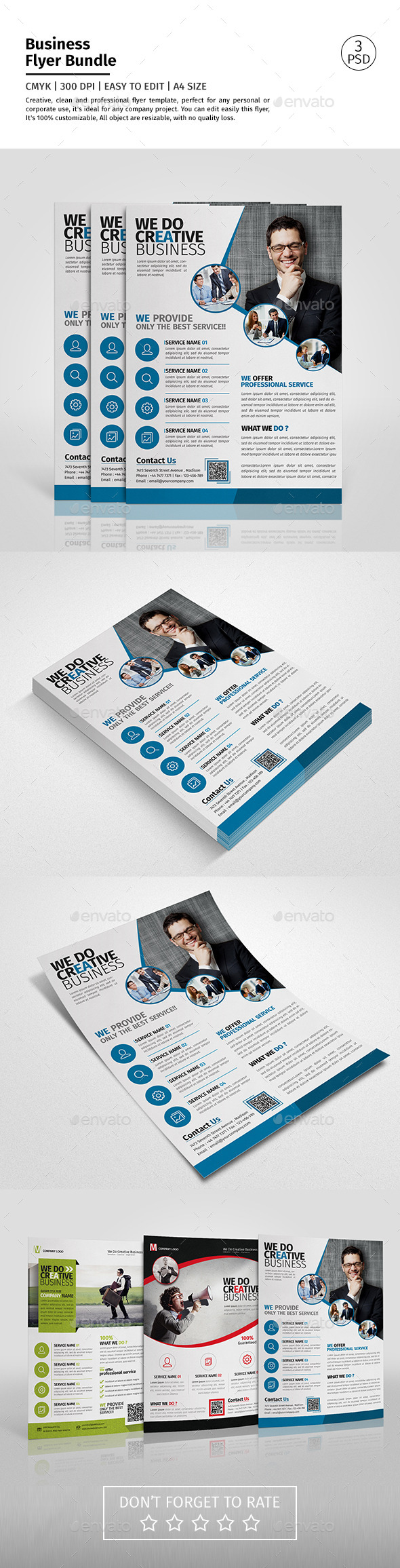 Corporate Flyer Bundle 01