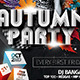 Autumn Party Flyer Template 2 - GraphicRiver Item for Sale