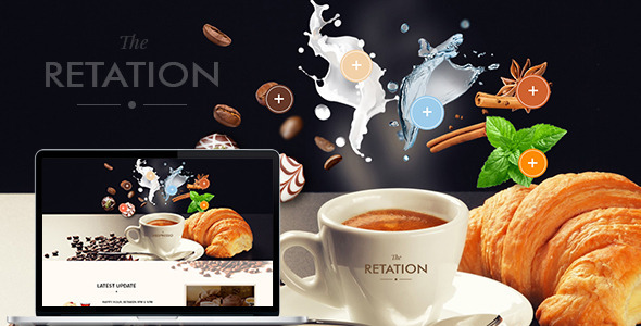 The Retation – Coffee, Bar and Bistr Template