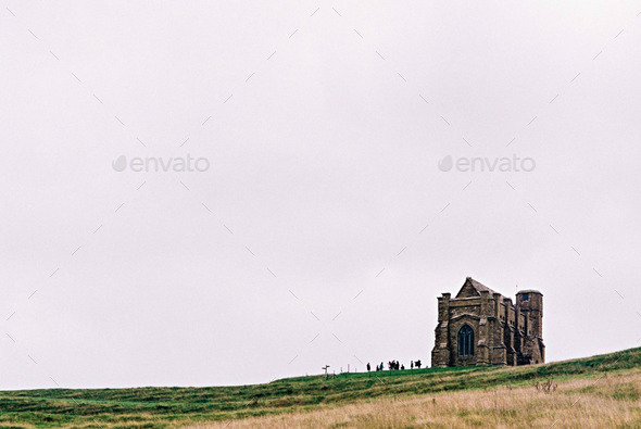 Chapel on the Hill - Stock Photo - Images