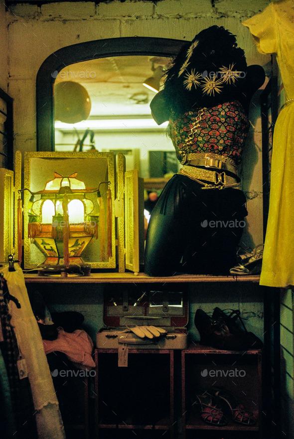 Antique Shop Mannequin - Stock Photo - Images