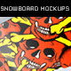 Snowboard Mockups - GraphicRiver Item for Sale