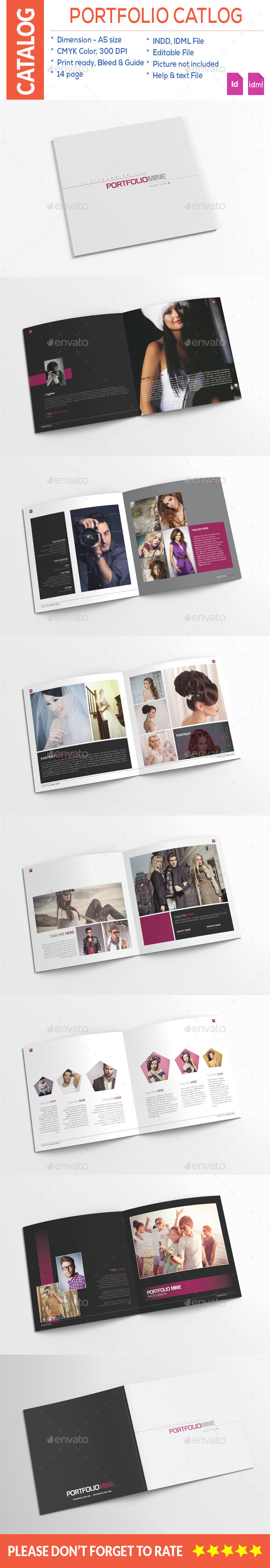 Fashion Portfolio Catalog
