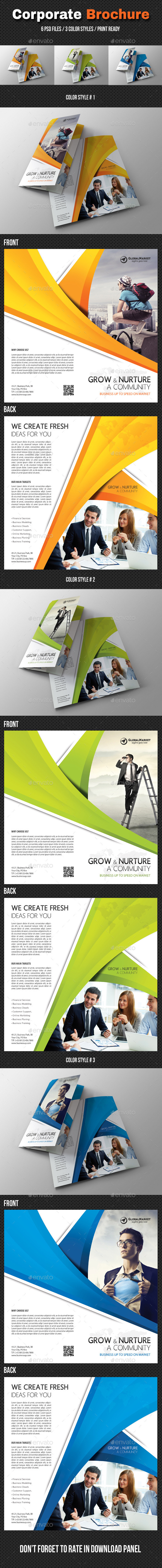 Corporate Bifold Brochure 03 - Corporate Brochures
