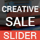 Creative Sale Slider - GraphicRiver Item for Sale