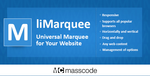 liMarquee - Horizontal and Vertical Scrolling of Text or Image or HTML Code - CodeCanyon Item for Sale