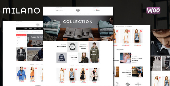 Milano – Fashion Responsive WooCommerce Theme