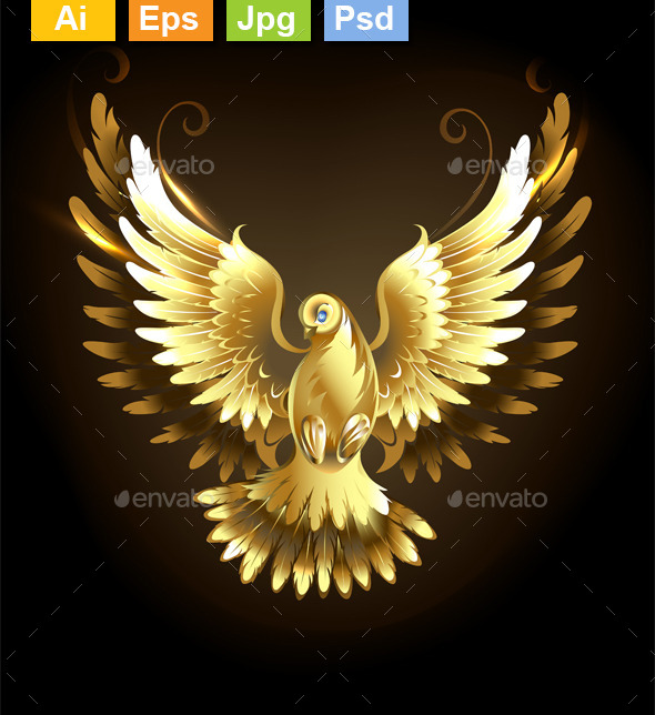 Gold Dove - Animals Characters