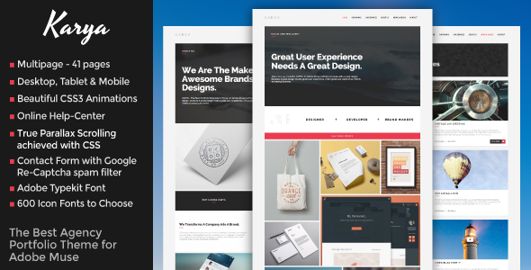 Karya- The Best Agency Portfolio Theme
