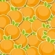 Seamless Pattern Background From Peach Vector - GraphicRiver Item for Sale
