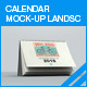 Calendar Mock-up Landscape - GraphicRiver Item for Sale