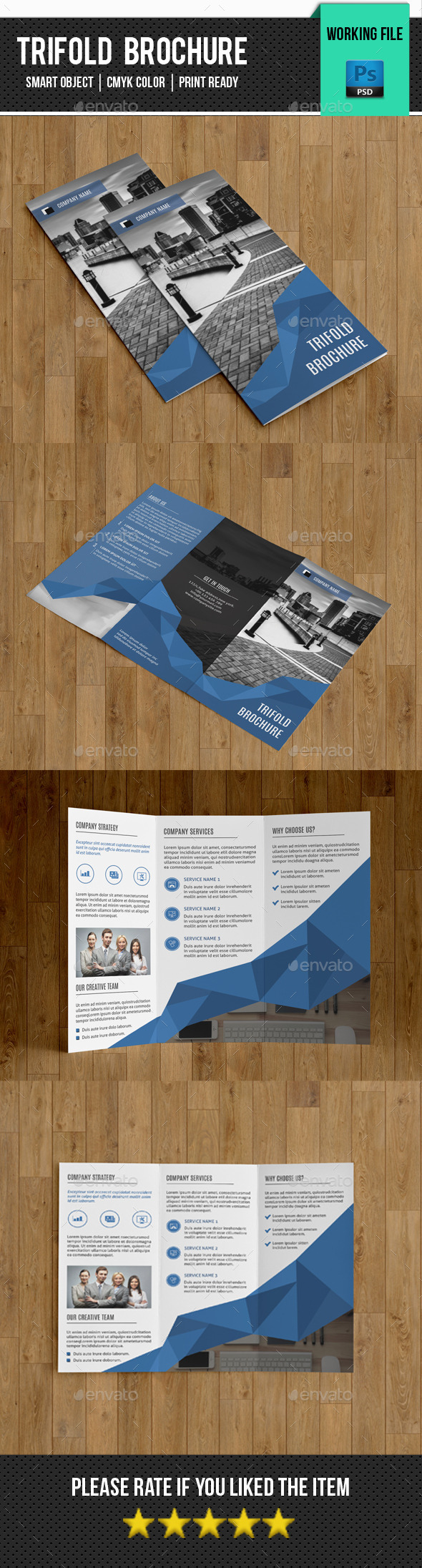 Corporate Trifold Brochure-V251 - Corporate Brochures