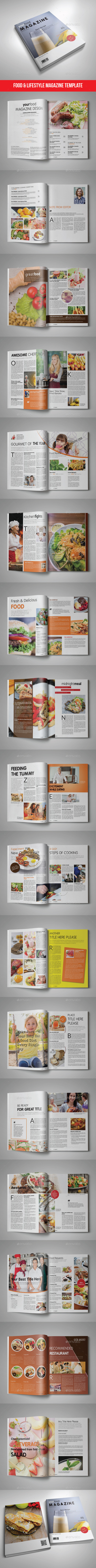 46 Pages Magazine Template