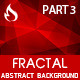 Fractal Abstract Background - part 3 - GraphicRiver Item for Sale