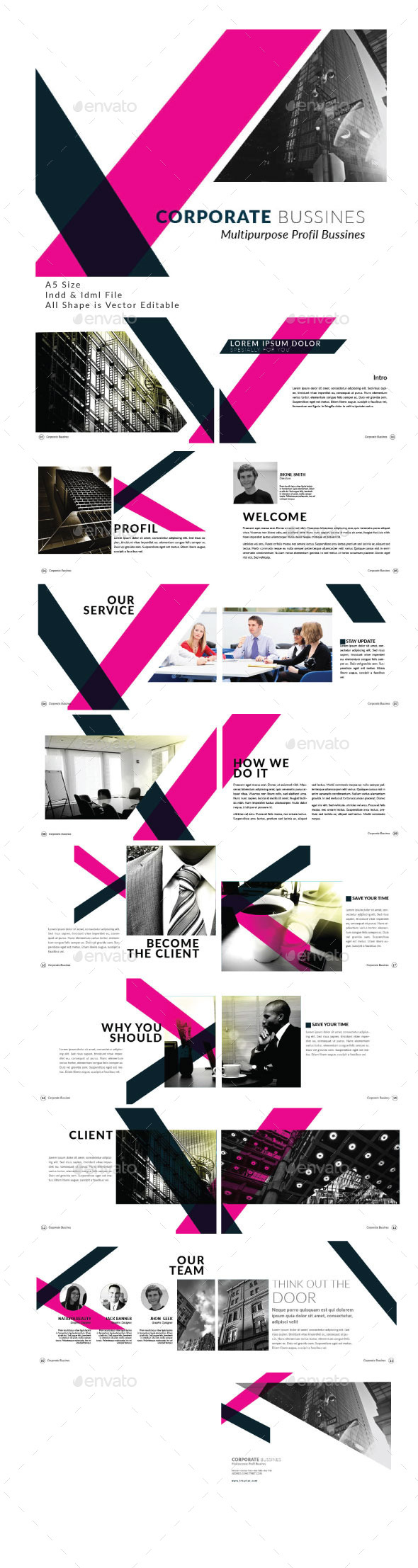 Corporate Business Modern Template - Corporate Brochures