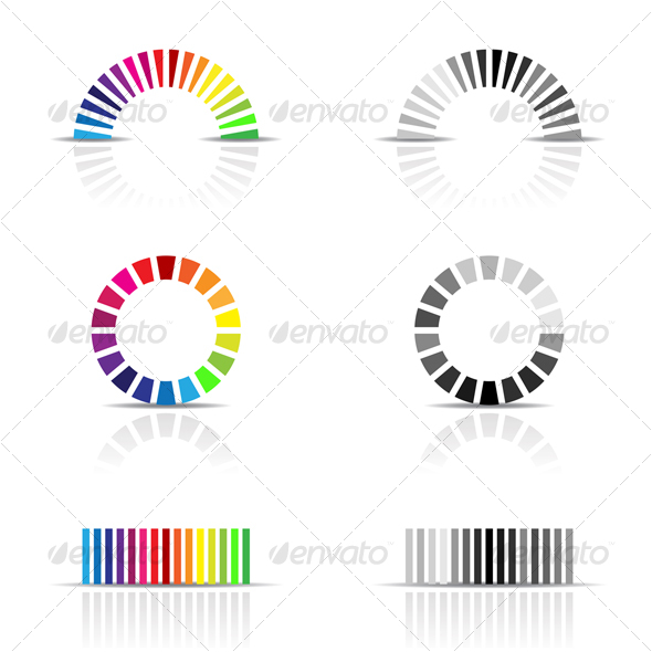 color profiles - Abstract Conceptual