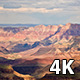 Clouds Moving Above the Grand Canyon  - VideoHive Item for Sale