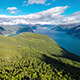 Flying Over The Sognefjorden - VideoHive Item for Sale