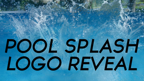 Pool Splash Logo Reveal